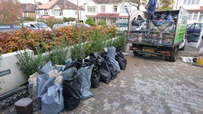 garden waste collection croydon