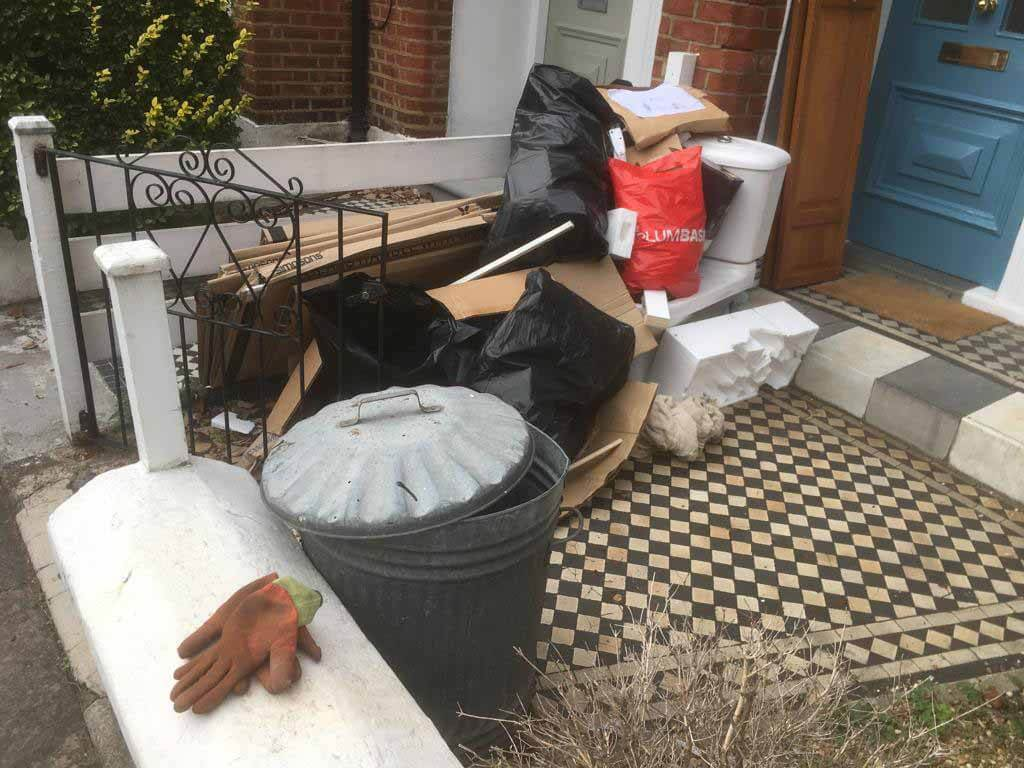 domestic rubbish removal croydon